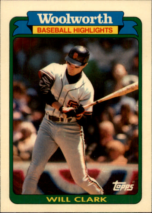 1990 Woolworth's Topps #24 Will Clark