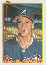 1990 Bowman #2 Tom Glavine