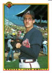 1990 Bowman #10 John Smoltz