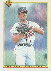 1990 Bowman #12 Lonnie Smith