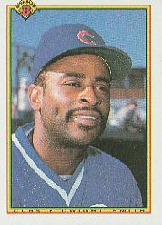1990 Bowman #32 Dwight Smith