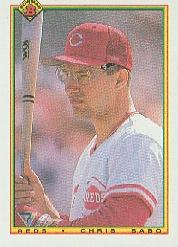 1990 Bowman #53 Chris Sabo