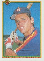1990 Bowman #78 Craig Biggio
