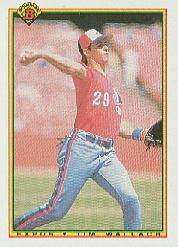 1990 Bowman #114 Tim Wallach