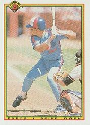 1990 Bowman #116 Spike Owen