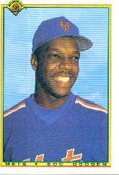 1990 Bowman #126 Dwight Gooden