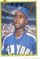 1990 Bowman #127 Kevin D. Brown RC