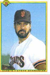 1990 Bowman #226 Steve Bedrosian