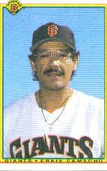 1990 Bowman #229 Ernie Camacho