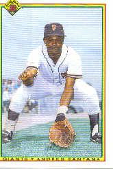 1990 Bowman #230 Andres Santana RC