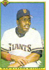 1990 Bowman #232 Kevin Mitchell