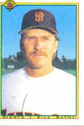 1990 Bowman #234 Bill Bathe