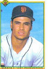 1990 Bowman #235 Tony Perezchica