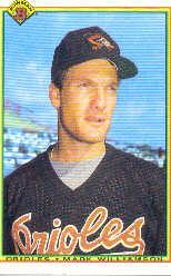 1990 Bowman #248 Mark Williamson