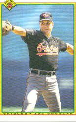 1990 Bowman #252 Joe Orsulak
