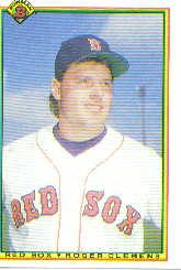 1990 Bowman #268 Roger Clemens