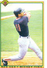 1990 Bowman #270 Mickey Pina RC
