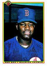 1990 Bowman #275 Mo Vaughn RC
