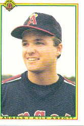 1990 Bowman #287 Kyle Abbott RC