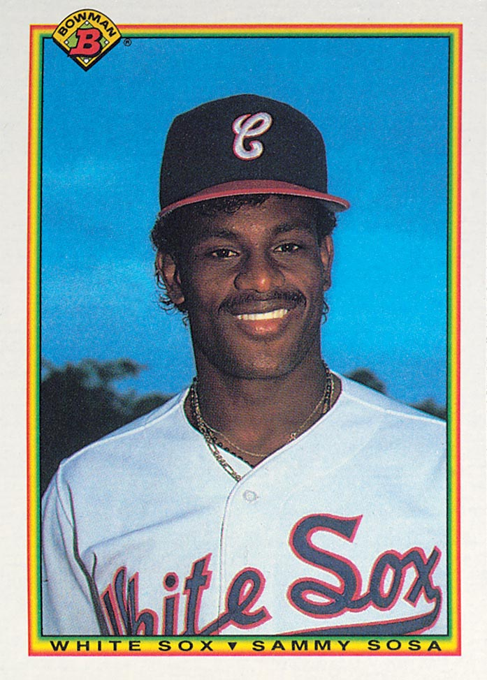1990 Bowman #312 Sammy Sosa RC
