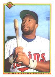 1990 Bowman #424 Kirby Puckett
