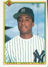 1990 Bowman #439 Bernie Williams RC