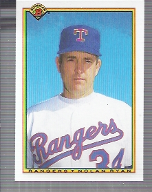 1990 Bowman #486 Nolan Ryan
