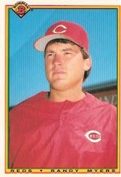 1990 Bowman Tiffany #47 Randy Myers UER