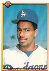 1990 Bowman Tiffany #98 Jose Vizcaino