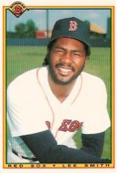 1990 Bowman Tiffany #263 Lee Smith