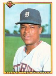 1990 Bowman Tiffany #356 Lou Whitaker