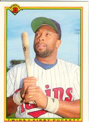 1990 Bowman Tiffany #424 Kirby Puckett