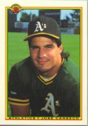 1990 Bowman Tiffany #460 Jose Canseco