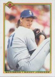 1990 Bowman Tiffany #468 Randy Johnson
