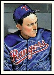 1990 Bowman Art Inserts Tiffany #8 Nolan Ryan