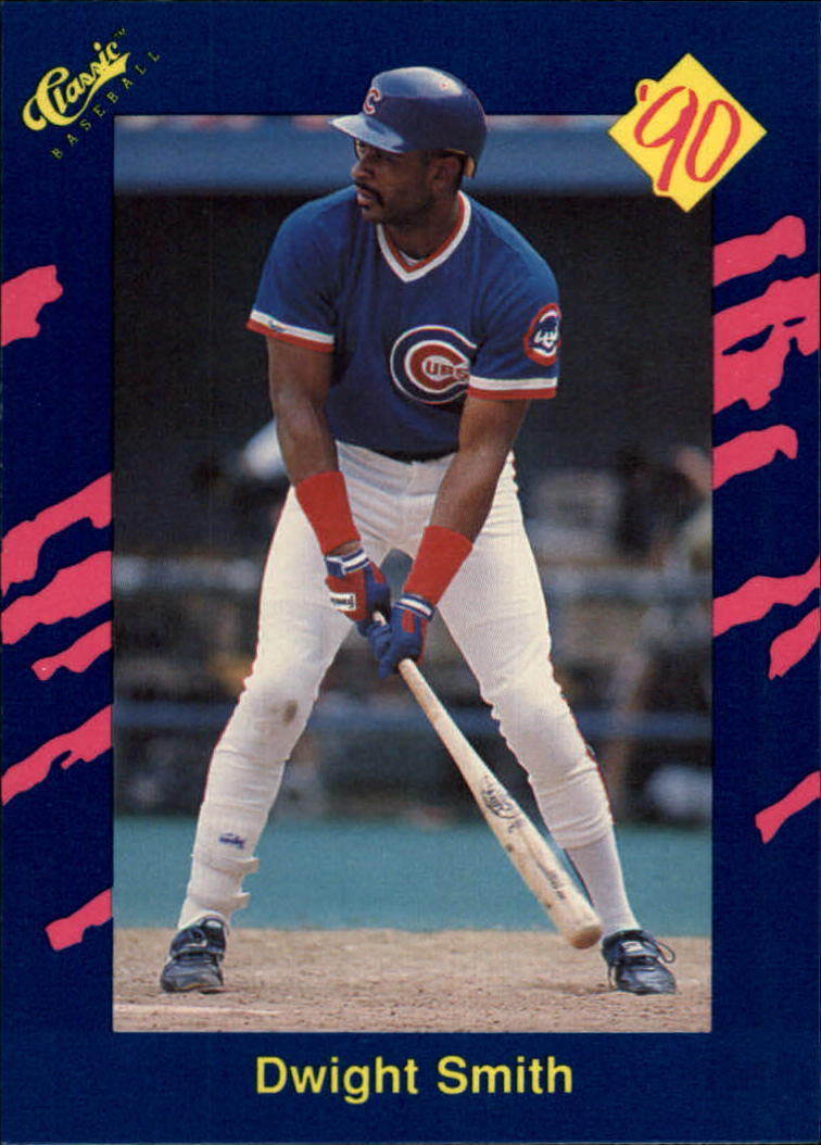 1990 Classic Blue #30 Dwight Smith