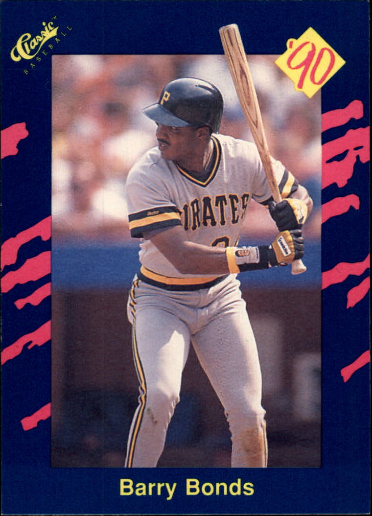 1990 Classic Blue #82 Barry Bonds