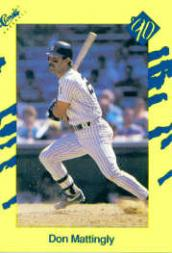 1990 Classic Yellow #T12 Don Mattingly