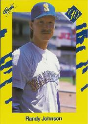 1990 Classic Yellow #T22 Randy Johnson
