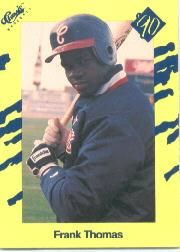 1990 Classic Yellow #T93 Frank Thomas