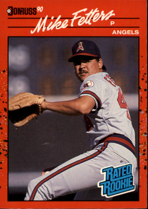 1990 Donruss #35 Mike Fetters RC