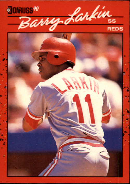 1990 Donruss #71 Barry Larkin