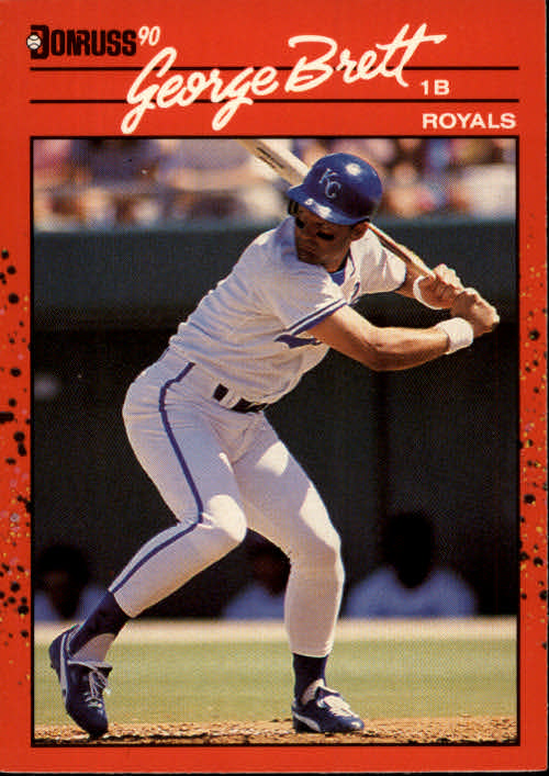1990 Donruss #144 George Brett