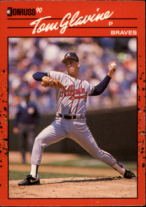 1990 Donruss #145 Tom Glavine