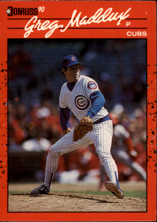 1990 Donruss #158 Greg Maddux