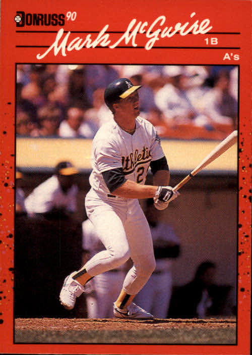 1990 Donruss #185 Mark McGwire