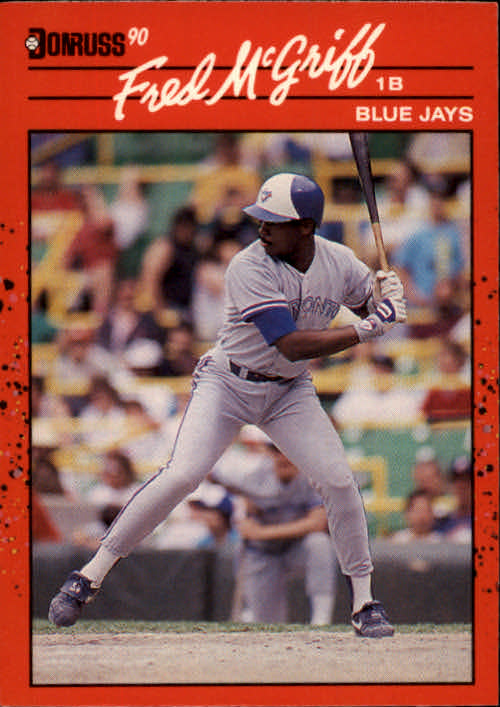 1990 Donruss #188 Fred McGriff