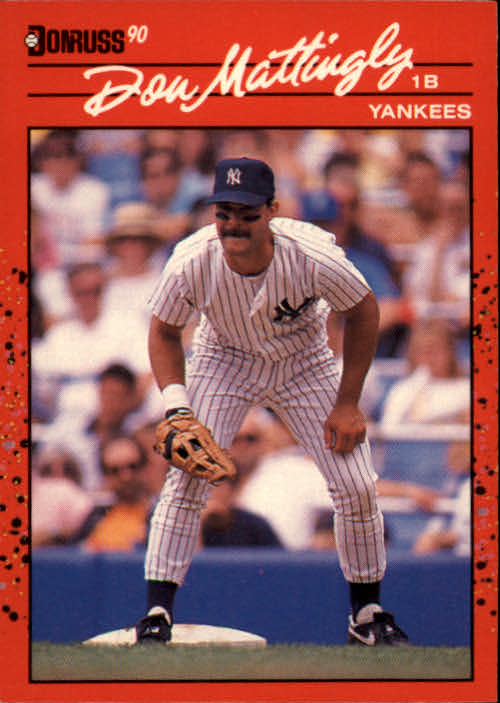 1990 Donruss #190 Don Mattingly