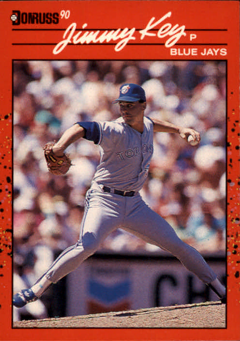1990 Donruss #231 Jimmy Key