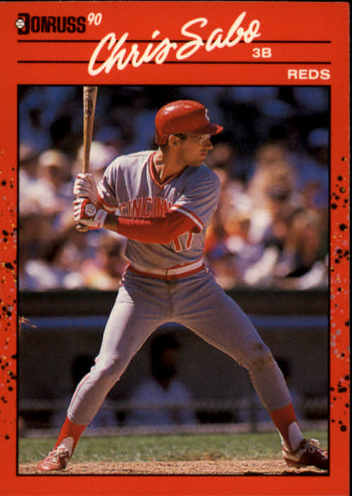 1990 Donruss #242 Chris Sabo